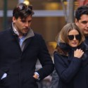 Olivia Palermo And Fiance Stroll Through NYC