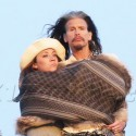 Steven Tyler Gets Loved Up By A Mystery Woman