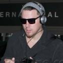 Channing Tatum At LAX