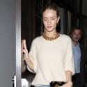 Rosie Huntington-Whiteley And Jason Statham Have Low-Key Date Night