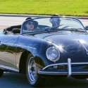 Adam Levine And Behati Prinsloo Take A Drive In Vintage Ride