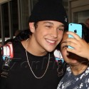Austin Mahone Arrives At LAX