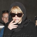 Courtney Love Is Back From Italy