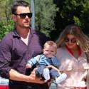 Fergie, Josh Duhamel Celebrate Axl's First Easter