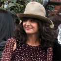 Katie Holmes Is In Cheery Mood In NYC