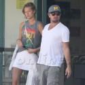 Leonardo DiCaprio And Girlfriend Toni Garrn Shop For Records
