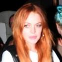 Lindsay Lohan Parties It Up At Coachella