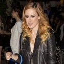 Rumer Willis Gets All Dolled Up For Her Sister's Launch Party