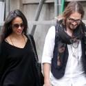 Zoe Saldana And Husband Go Shopping In Italy