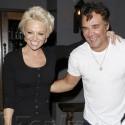 Pamela Anderson Hugs David Chapelle