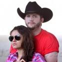 Ashton & Mila Go Country!