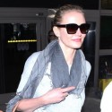 The Stars Of The Other Woman Are Sleek And Stylish AT LAX