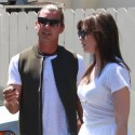 Gavin Rossdale Lunches With Daughter Daisy Lowe