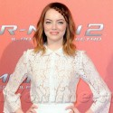 Andrew Garfield And Emma Stone Attend The Rome Photocall For <em>Spiderman</em>