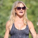 Goldie Hawn Exercises Her Right To Wear A Skimpy Tank Top
