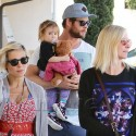 Chris Hemsworth And Elsa Pataky Venture Out In Malibu With Daughter