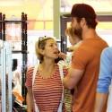 Chris Hemsworth And Elsa Pataky Run Into Owen Wilson In Malibu