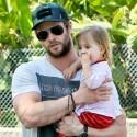 Chris Hemsworth, Elsa Pataky Take Daughter India To Clinic