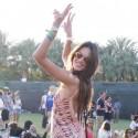 Vanessa Hudgens And Company Party Hardy At Coachella