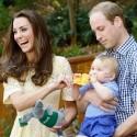 Kate Middleton, Prince William Take George To Zoo