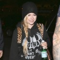 Avril Lavigne Is All Smiles As She Flies To Brazil