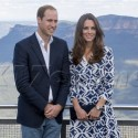 The Royals Check Out The View At The Blue Mountains