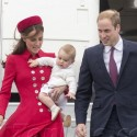 Prince William, Kate Middleton And Prince George Are The Picture Of Perfection