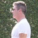 Simon Cowell Shows Off His Pecs