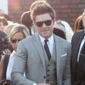 Zac Efron Suits Up For Neighbors Premiere