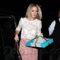 Kate Hudson Wears Polka Dot Pants To Chrome Hearts Party