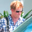 Prince Harry Emerges After Pal's Bachelor Party In Miami