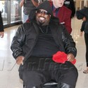 CeeLo Green Rolls Around LAX In A Wheelchair