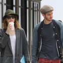 Andrew Garfield And Emma Stone Have A Coffee Date