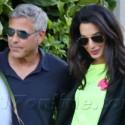 George Clooney And Fiancee Amal Alamuddin Hit The 'Bu