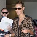 Heidi Klum Is Looking Fierce At LAX