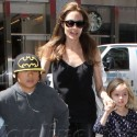 Angelina Jolie And The Kids At FAO Schwartz