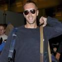 Chris Martin At LAX