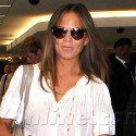 Chrissy Teigen Is All Smiles At The Airport