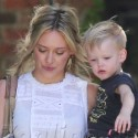 Hilary Duff Enjoys A Day With Her Son