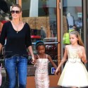 Heidi Klum Treats Her Daughters To A Day Of Shopping