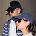 Rachel Bilson And Hayden Christensen Arrive At LAX