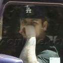 Rob Kardashian Drives To Meet Mom Kris Jenner