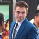 Robert Pattinson At <em>The Rover</em> Premiere