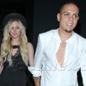 Ashlee Simpson And Evan Ross At The Emerson Theatre