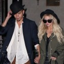 Evan Ross And Ashlee Simpson Have A Hot Dinner Date