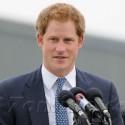Prince Harry Horses Around In England