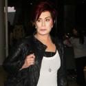 Sharon Osbourne Lands At LAX