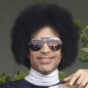 Prince Watches Tennis Game In France