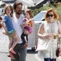 Alyson Hannigan Spends Time With Her Loved Ones
