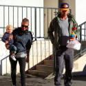 Fergie And Josh Duhamel Bring Baby Axl To Breakfast
